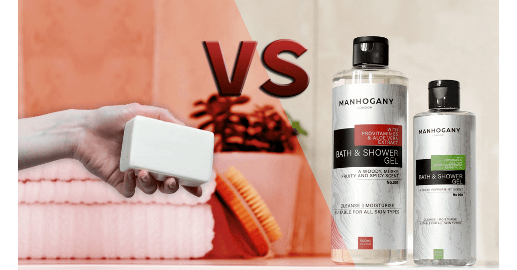 Shower Gel VS Soap - MANHOGANY