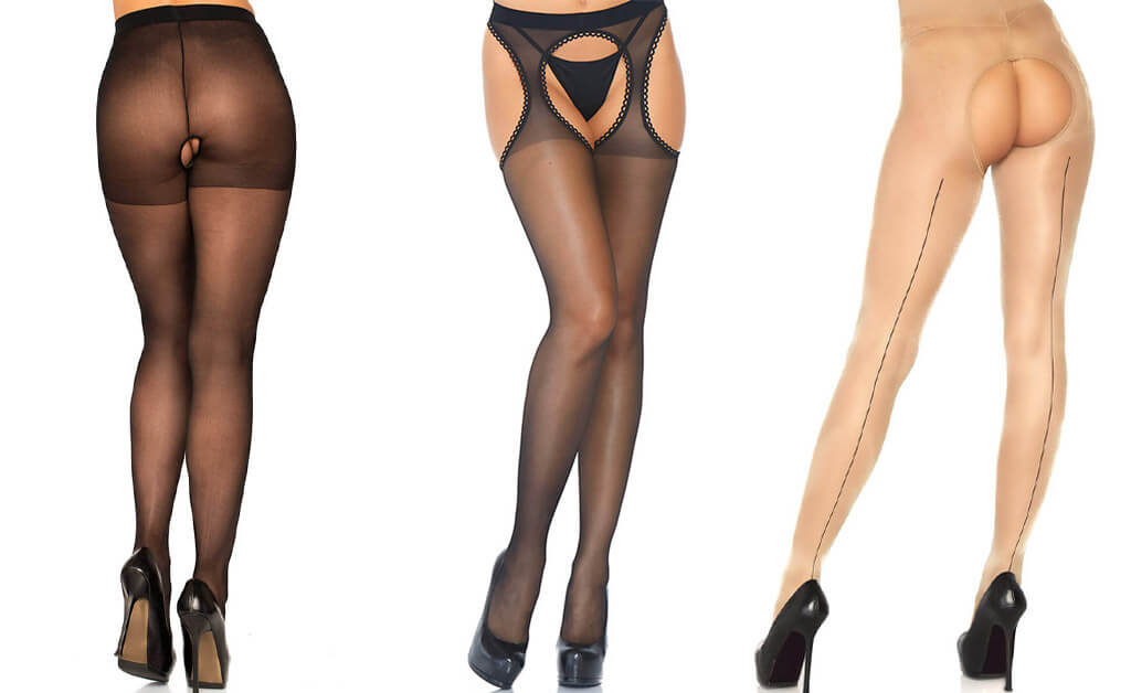Why you should wear crotchless pantyhose