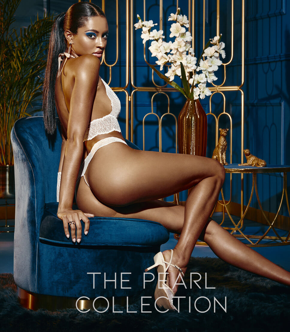 The Pearl collection | Bracli pearl lingerie