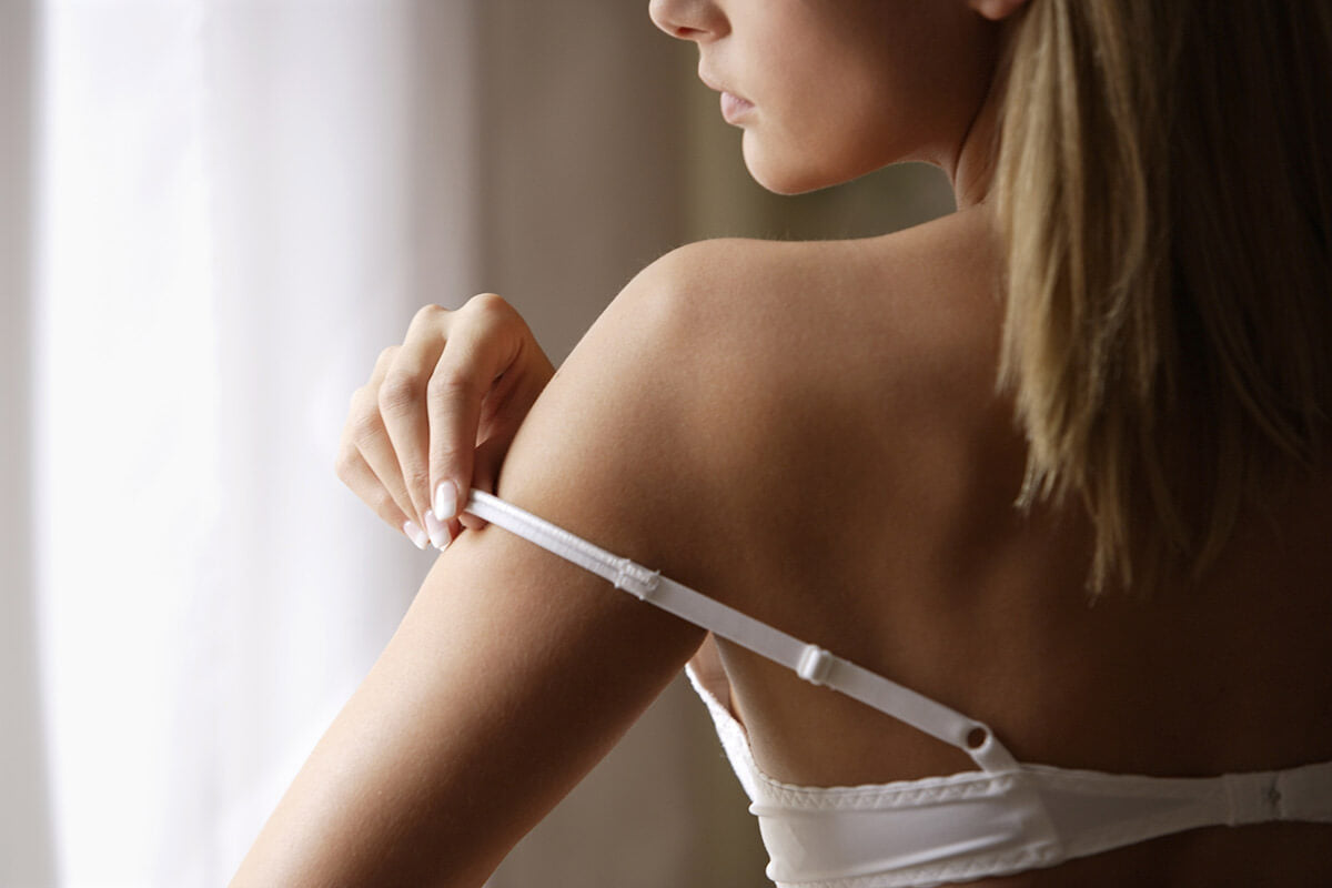 Do you also experience problems with your bra straps sliding down?