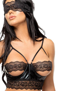 Lingerie set with blindfold - Shaquila