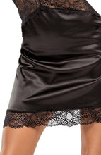 Load image into Gallery viewer, Black satin nightie - Adelaide Doll