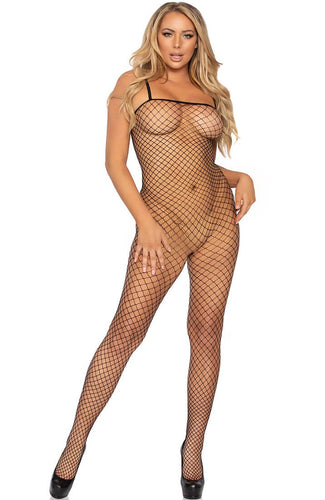 Black diamond net bodystocking - Power of a Woman