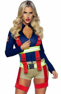 Firefighter costume - Hot Zone Holly