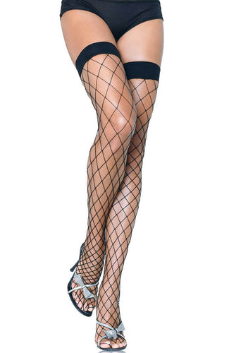 Black fence net stay up stockings