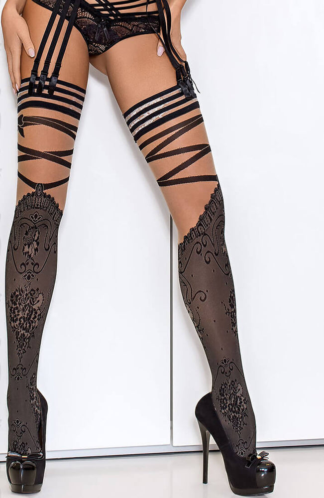 APPEAL - Stockings with cross-over
