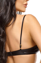 Load image into Gallery viewer, Open cup bra and garter belt set - Narine