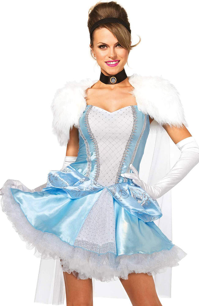Cinderella costume - Slipper-less Cinderella