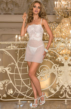 Load image into Gallery viewer, BELL - White chemise dress