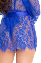 Load image into Gallery viewer, Blue bodysuit & robe - Feeling Blue