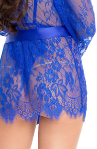 Blue bodysuit & robe - Feeling Blue