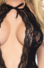 Load image into Gallery viewer, Crotchless lace bodystocking - It's In Your Hands