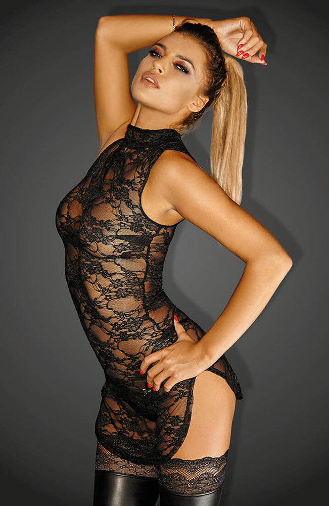 Lace mini dress - Divalicious