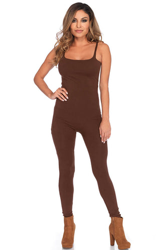 Brown basic bodystocking
