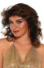 Load image into Gallery viewer, Brown 70s disco wig