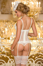 Load image into Gallery viewer, CEREMONY - Ivory bustier corset