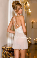 Load image into Gallery viewer, CHAMPAGNE - Ivory chemise dress
