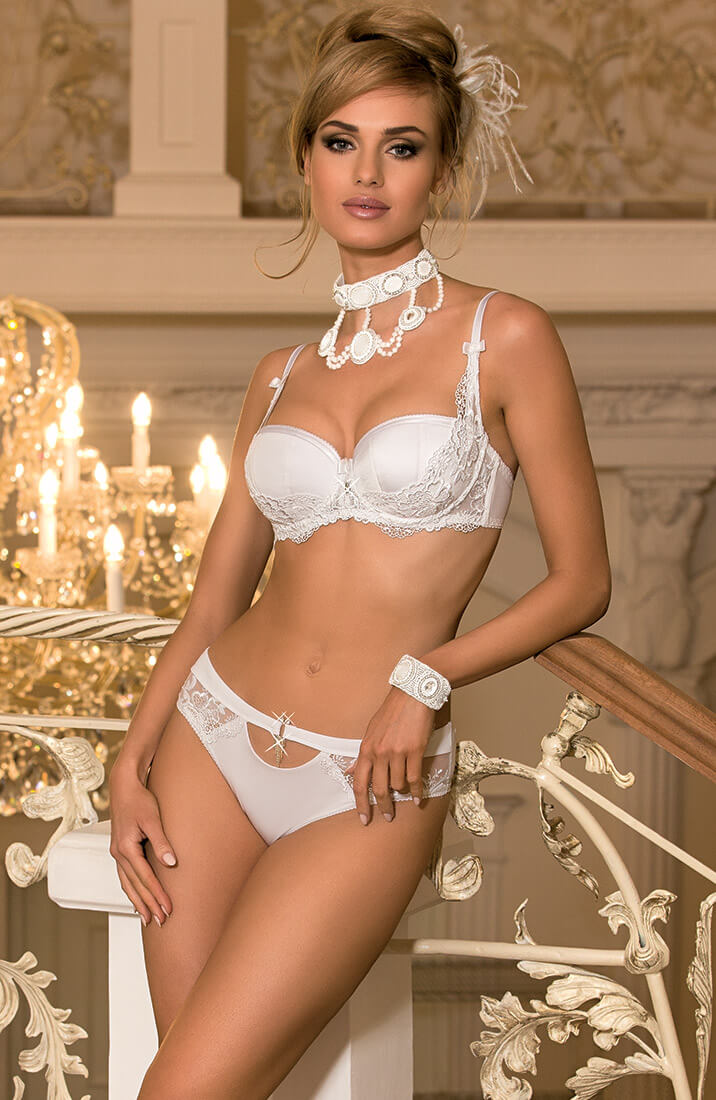CHANDELLES - White bra