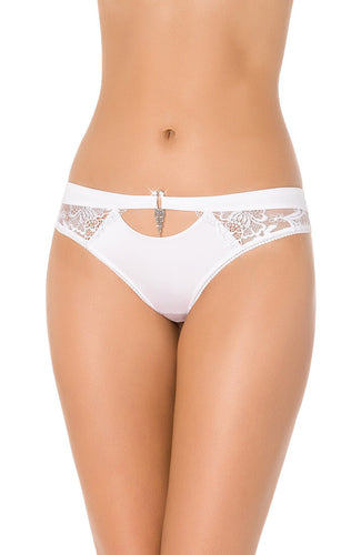 CHANDELLES - White thong