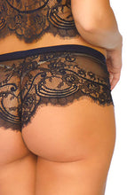 Load image into Gallery viewer, Cami top and boyshorts - Eyelash Lace