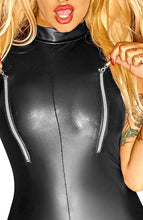 Load image into Gallery viewer, Sleeveless wet look catsuit - Make It or Break It