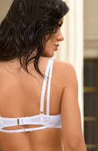 Load image into Gallery viewer, DIVINE - White harness bra top