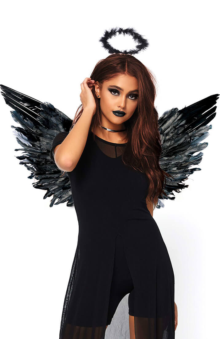 Angel Kit - Black glory and wings