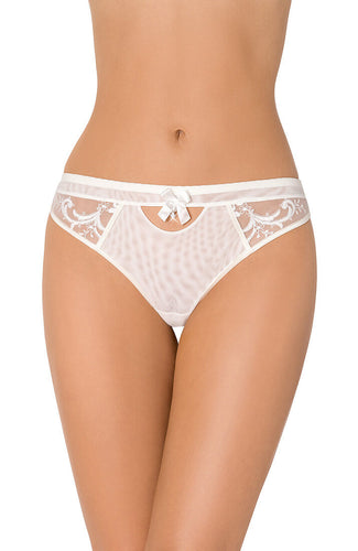HONEYMOON - Ivory thong