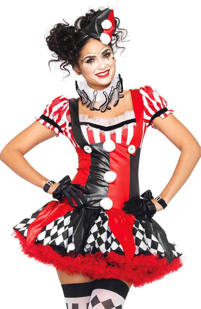 Harlequin clown costume - Harlequin Clown