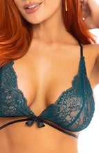 Load image into Gallery viewer, Teal lingerie set - Heartless Romantic