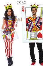 Load image into Gallery viewer, Queen of Hearts costume - Straight Flush