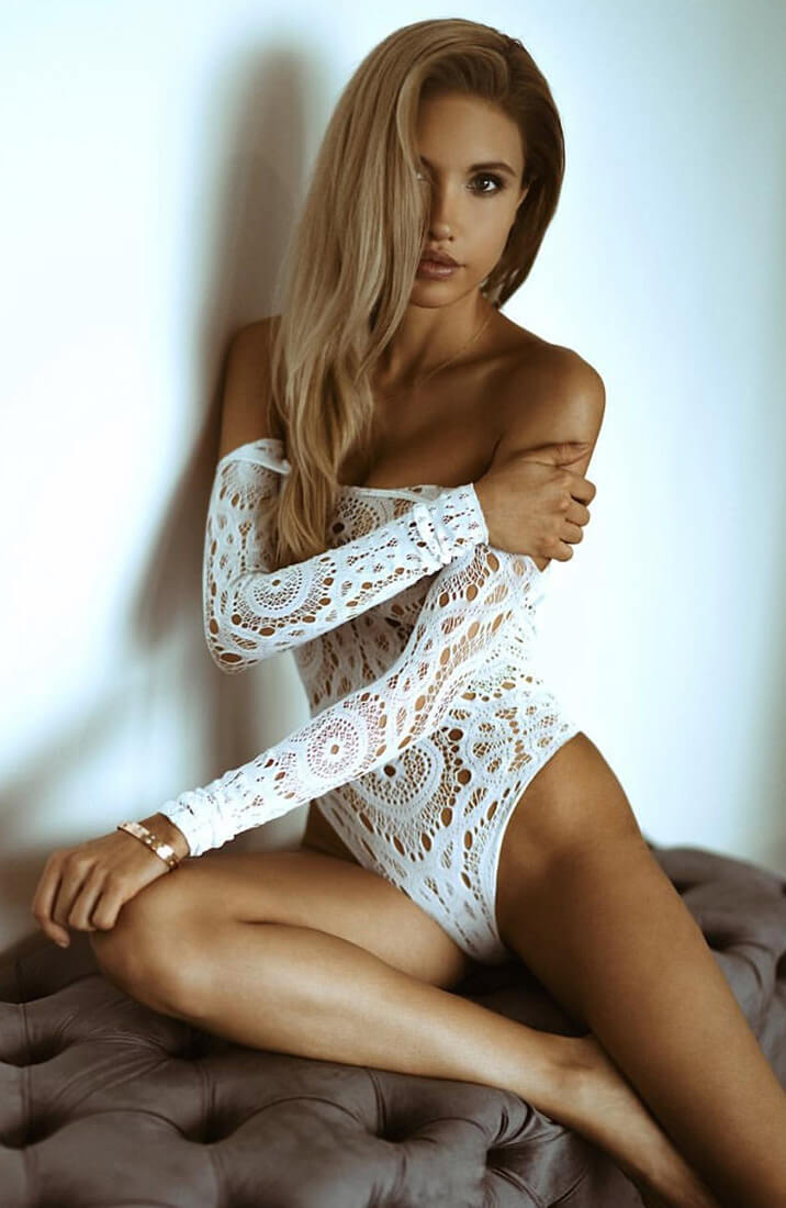 White bodysuit - White Out