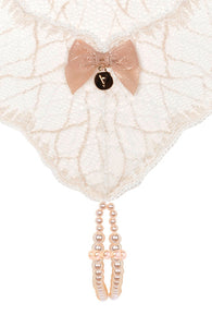 Ivory double pearl string - Sydney Double