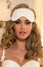 Load image into Gallery viewer, JUST MARRIED - Ivory blindfold