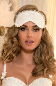 JUST MARRIED - Ivory blindfold