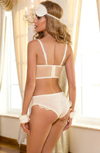 Load image into Gallery viewer, JUST MARRIED - Ivory bustier bra