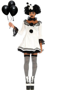 Clown costume - Pierrot Clown