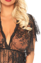 Load image into Gallery viewer, Long lace negligee - Soft Romance