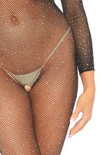 Load image into Gallery viewer, Crystalized fishnet bodystocking - Dolly Dream