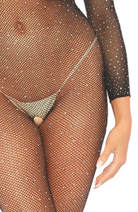 Crystalized fishnet bodystocking - Dolly Dream