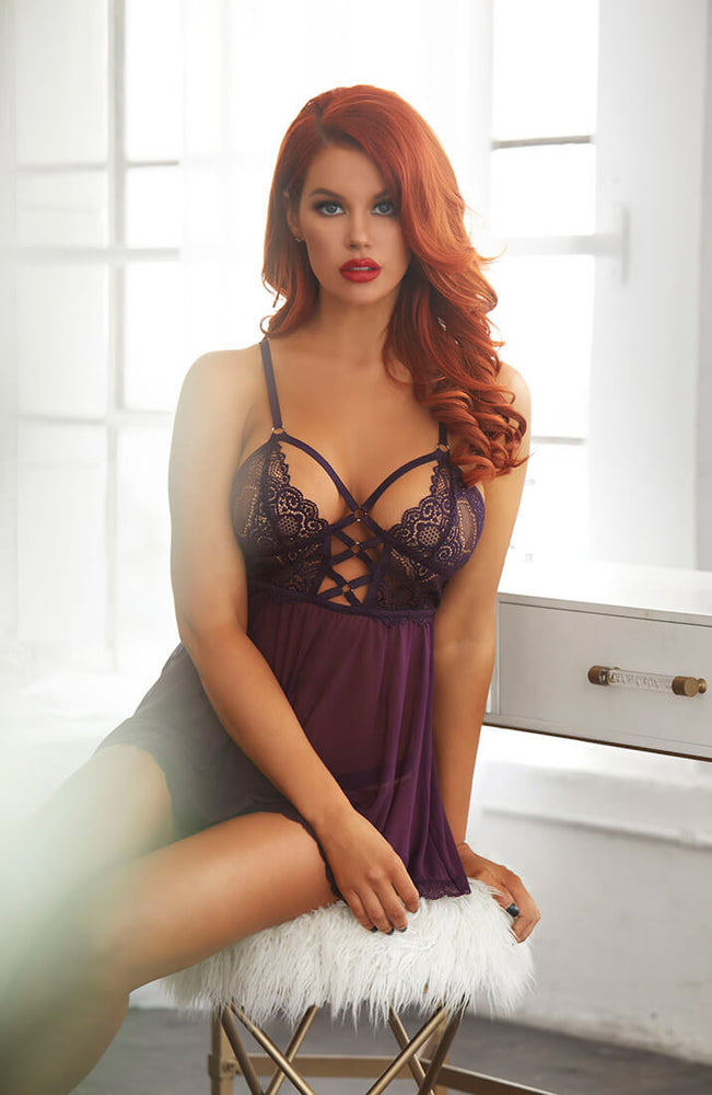 Purple chemise - Courting Cutie