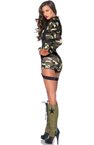 Military costume - Goin' Commando