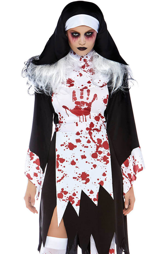 Creepy Nun costume - No Go Nun