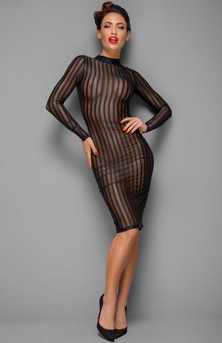 Mesh pencil dress - Call Me Claire