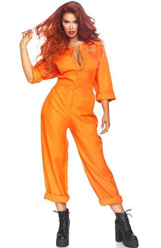 Orange jumpsuit costume - Lockdown Troublemaker