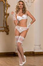 Load image into Gallery viewer, PROMISE - White bridal lingerie
