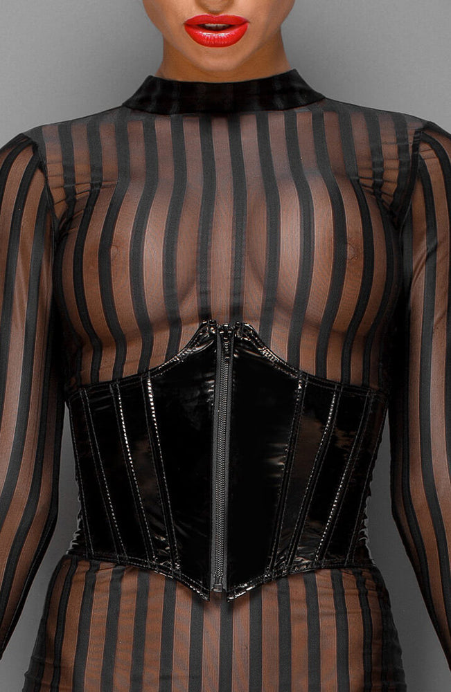 PVC underbust corset - Please Do