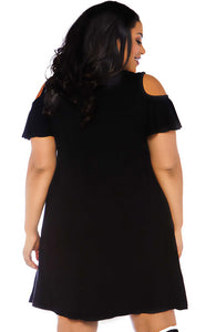 Plus Size jersey Halloween dress - More Boos Please