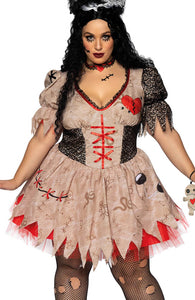 Plus Size Voodoo doll costume - Deadly Doll