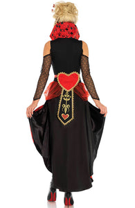 Queen of Hearts costume - Red Rebel Queen